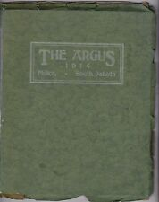 1914 Miller High School Yearbook The Argus Miller, South Dakota