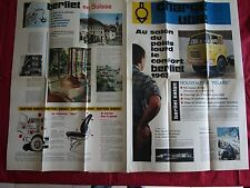 N°8609 / BERLIET : revue d'epoque charge utile  octobre 1962