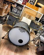 Forecast Drums Type 2 Etch Black Custom Cast Acrylic Seemless Kit Gold Hardware
