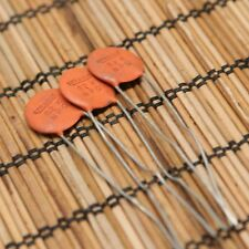 Lot of 3 Vintage SPRAGUE 82pf K NPO Ceramic Capacitors