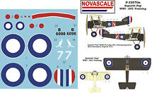 AFC Sopwith Pup WWI Mini-Set Decals 1/32 Scale N32070a