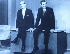 TONIGHT SHOW clipping B&W photo Johnny Carson 1962 Groucho Marx premiere episode