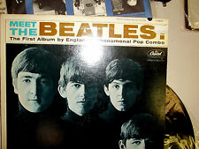 MEET THE BEATLES FEB 1964 1 BMI #3 ORIGINAL 50 YEARS VG++ WAX LENNON
