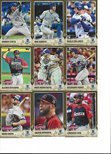 2015 TOPPS UPDATE Gold #/2015 Kelvin Herrera All-Star Kansas City Royals US 63