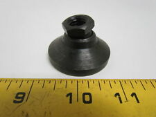 "Toggle Pad Clamp 1-7/8"" Base 1/2-13 Thread Black Oxide Steel Leveling Foot"