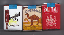 SET OF 3 DUMMY US WW2 ERA  CIGARETTE PACKS (REPRO)