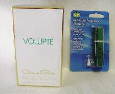 OSCAR DE LA RENTA VOLUPTE 3.4 OZ EDT SPRAY SEALED +FREE ATOMIZER+EZ REFILL TOP
