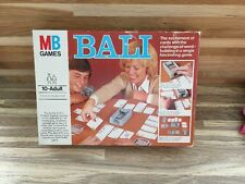 BALI - MB GAMES - VINTAGE FAMILY CARD WORD GAME - COMPLETE - VGC
