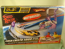 H/W  Speed RacerCasa Cristo 5000 Maltese Ice Caves Track  Set Racer X Included !