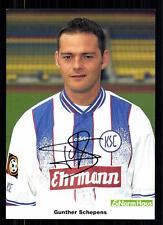 Gunther Schepens Karlsruher SC 1997-98 TOP AK  + A 71972