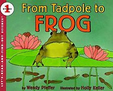 Let's-Read-And-Find-Out Science Stage 1 From Tadpole to Frog (pb) NEW