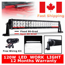 LED Light bar 24'' 120W  Barre phare de travail Projecteur Rampe Camion Off road
