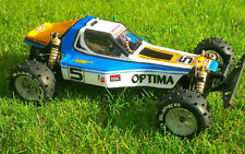 Kyosho Optima Bodyshell Lexan Reproduction Body And Driver
