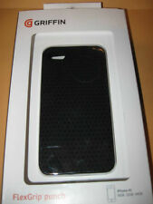 New GRIFFIN FlexGrip Punch BLACK silicone CASE for IPhone 4S 16Gb 32FB 64GB