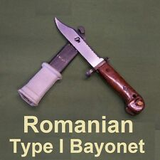 Romanian Type 1 Vintage Bayonet - Unissued Condition - Military Surplus NMS