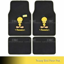Tweety Bird Car Floor Mats 4 PC Officially Licensed Products Auto Carpet Mats