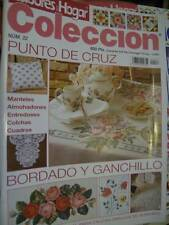 Labores Del Hogar Coleccion Magazine #22 Cross Stitch, Cutwork, Crochet, Embroid