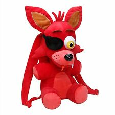 """Five Nights at Freddy's 18"""" Red Foxy Plush Backpack-FNF 18"""" Foxy Backpack-New!"""