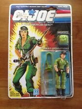 "1983 - 1985 HASBRO 3 3/4"" GI JOE 36-BACK CODE NAME: LADY JAYE / 100% Complete"