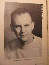 1947 Yearbook Evansville IN College McCutchan's First Year as Basketball Coach