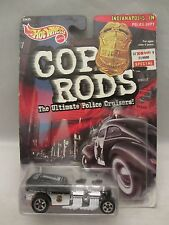 Hot Wheels Cop Rods  Way 2 Fast  Indianapolis, IN. Police Dept. NOC (215D16 )