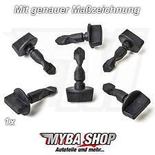 1x Befestigungs Clip Schrauben Bolzen für Audi A1 A3 Q5 Q7 und VW 6Q0807643