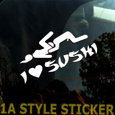 I LOVE SUSHI sticker aufkleber i love vaginas dub oem haters the Shocker 52