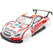 RCG Racing Lexus SC Racing 1/10th RC Car Body Shell Red 190mm S003R