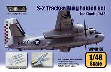 Wolfpack 1:48 S-2 Tracker Wing Folded Set for Kinetic - Resin Detail #WP48137