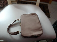 Vintage (early 1960's) brown evening bag and small coin purse by Ingber