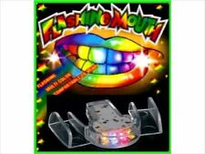 24 PACK Flashing Mouth Piece Guard Light Up Teeth LED Party Favors Mouthpieces