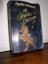 The Golden Unicorn by Phyllis A. Whitney (1991, Paperback, Large Type)