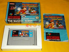 THE MAGICAL QUEST STARRING MICKEY MOUSE Super Nintendo Snes Italiano ○○ COMPLETO