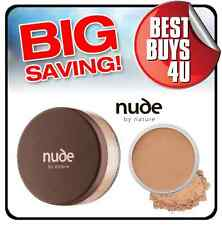 NUDE BY NATURE DARK 15G - loose make up foundation mineral cover powder