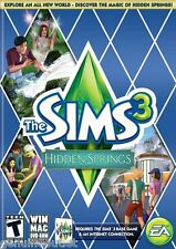 THE SIMS 3 HIDDEN SPRING for PC/MAC SEALED NEW