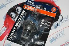 OSRAM H4 NIGHT INTERRUTTORE PIÙ UNLIMITED +110% PIÙ LUCE - 1 LAMPADINA