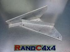 DA1188 Land Rover Defender Galvanized Front Mud Flap Brackets Pair 90 110 130
