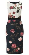 Brand New Phase Eight / 8 Rose Scuba dress Size 16 RRP £110!!