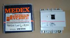 INTERRUTTORE DIFFERENZIALE SALVAVITA MEDEX 63A 2 POLI 220V CODICE VEMER VM0445