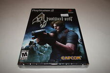Resident Evil 4 Sony Playstation 2 PS2 Video Game New Sealed