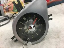 '57 Chrysler Imperial -Original Working Dash Clock - Serviced, Tested, and Nice!
