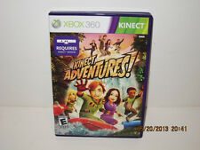 Kinect Adventures  (Xbox 360, 2010), DISC, CASE AND BOOKLET ARE  PERFECT-PRISTI