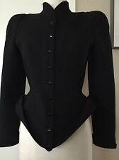 Vintage Thierry Mugler Paris  Structural Corset Jacket Sz Small
