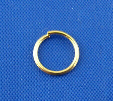 700Pcs Gold Plated Open Jump Rings 7x0.78mm Wholesale SP0010