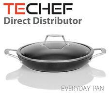 TECHEF - Onyx Collection, 12-Inch Nonstick Everyday Pan with Glass Lid