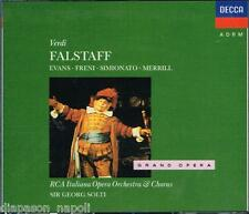 Verdi: Falstaff / Solti, Merrill, Evans, Freni, Simionato, Kraus - CD
