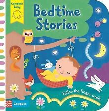 Bedtime Stories: Follow the Finger Trails by Campbell Books (Board book, 2015)