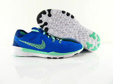 Nike Free 5.0 TR FIT 5 Breathe Barefoot Running Training Blue US_6.5 Eur 37.5