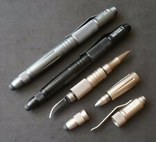 Portable Self Defense Tactical Pen Aluminum With Glass Breaker And Knife