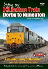 Riding the DCR Ballast Train Derby to Nuneaton *DVD (Cab Ride)